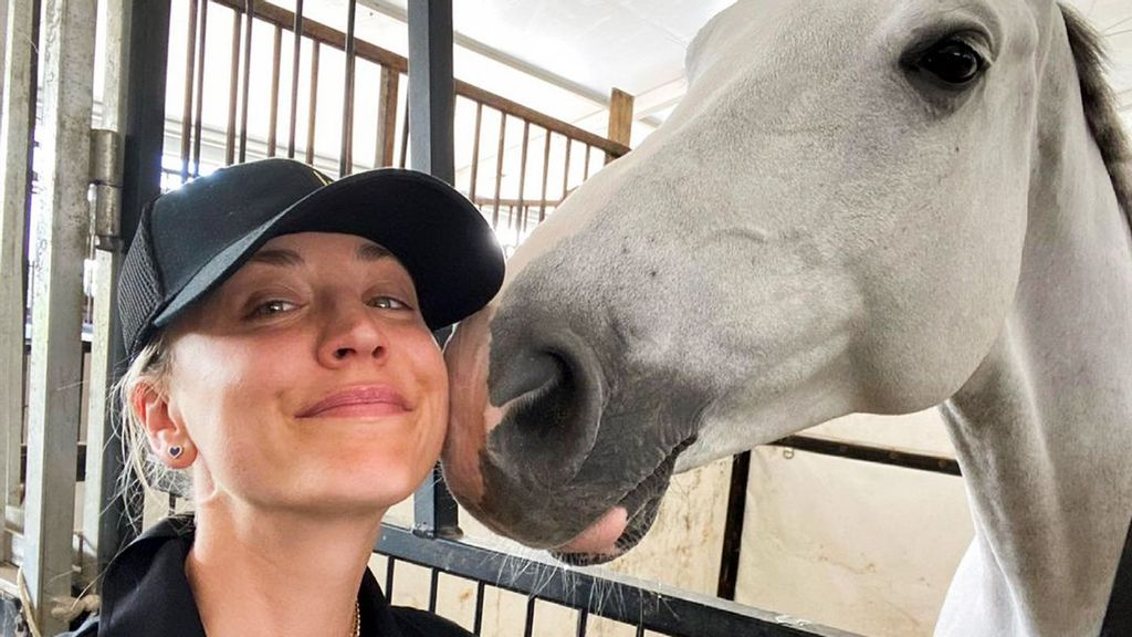 Actor Kaley Cuoco Bashes Coach Who Punched Horse At Tokyo Olympics