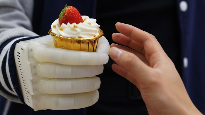 Thumbs Up: Inflatable Robotic Hand Offers Hope For Amputees
