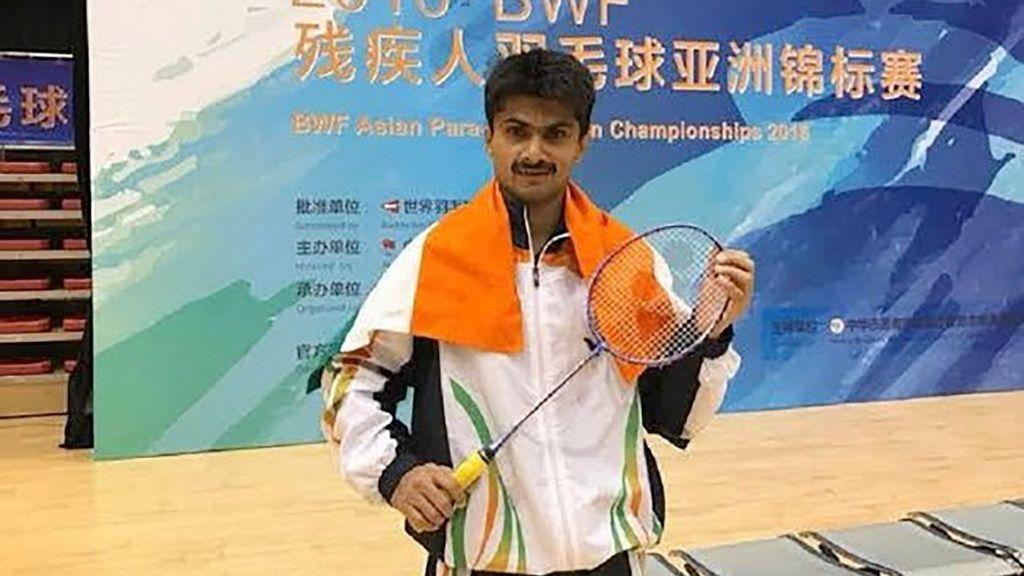 <p>Para-badminton player Suhas L. Yathiraj. (ANI)</p>
