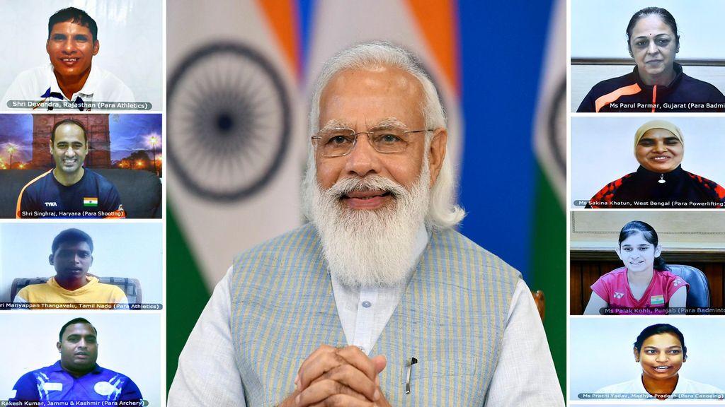 Para-Athletes Shining Example Of Abundant Rural Talent: Indian PM