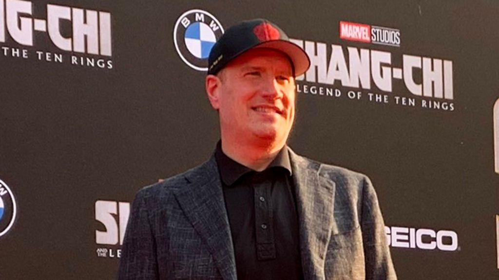 """Kevin Feige Addresses """"Shang-Chi"""" Star Simu Liu's Response To Disney CEO's """"Experiment"""" Comment"""