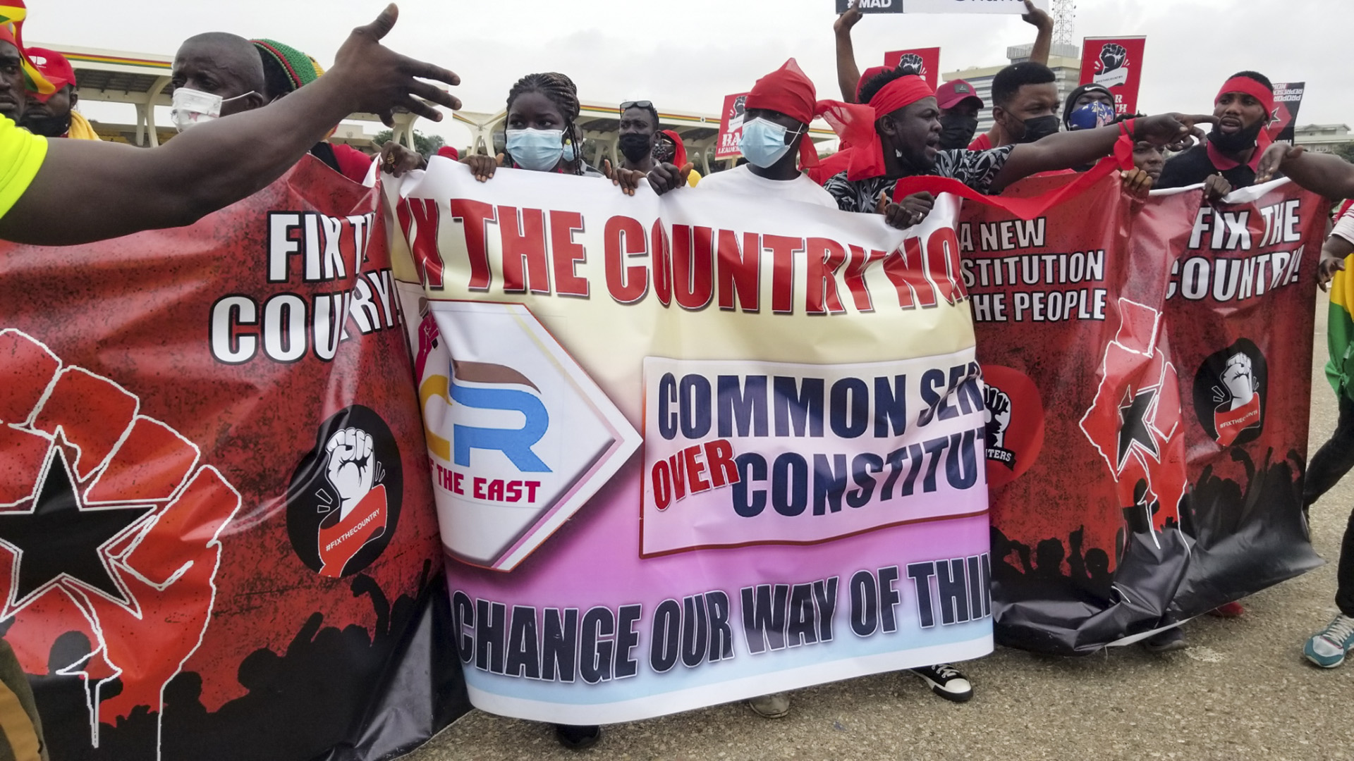 #FixTheCountry: Ghanaians Take To The Streets And Social Media To Demand Constitutional Changes