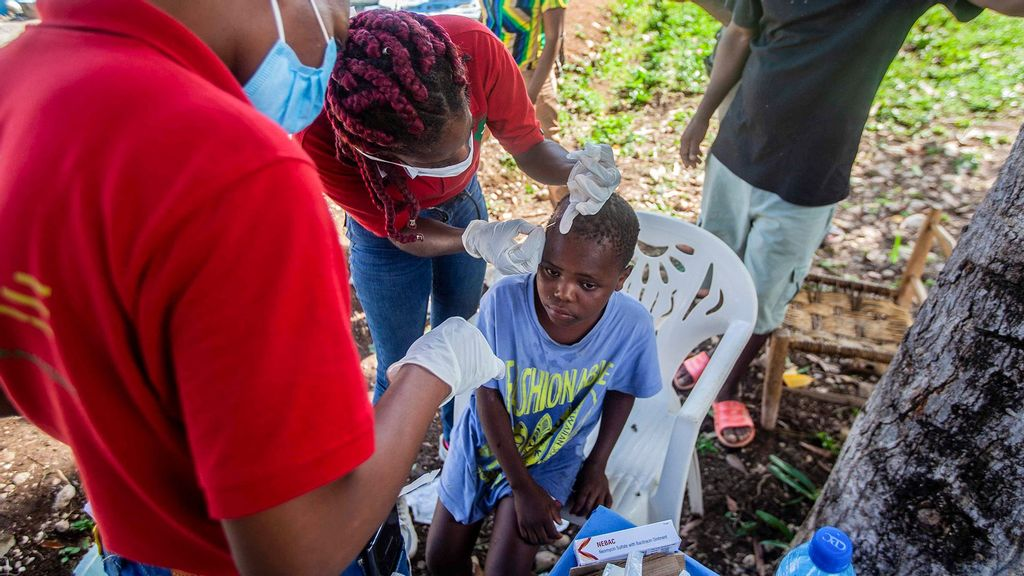 The United Nations Children's Fund States Over Half A Million Children Affected By Haiti Earthquake