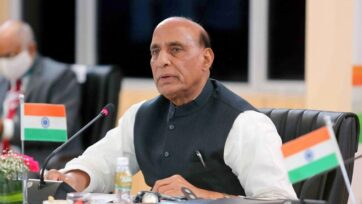 Defence Minister Rajnath Singh will launch Defence India Start-up Challenge (DISC) 5.0 in New Delhi on Thursday. (Press Information Bureau)