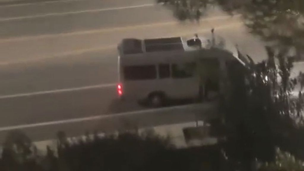 VIDEO: Kidnap Cam: Shocking Footage Of Woman Screaming For Help As She's Dragged Into A Van