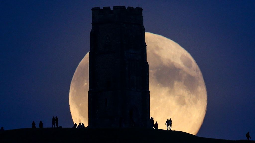 Americas' Double Treat: Weekend's Blue Moon, And The Term's Origin