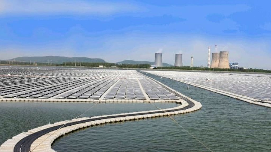 National Thermal Power Corporation Commissions The Largest Floating Solar Project In Southern India