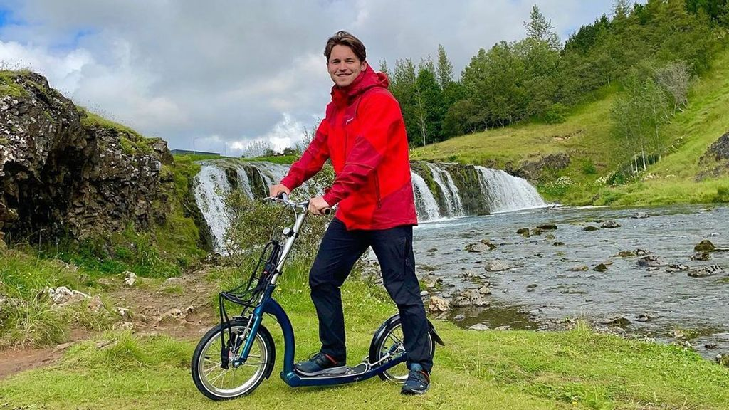 VIDEO: Fjord Explorer: Adventurer Aims To Scoot More Than 800 Miles Around Iceland