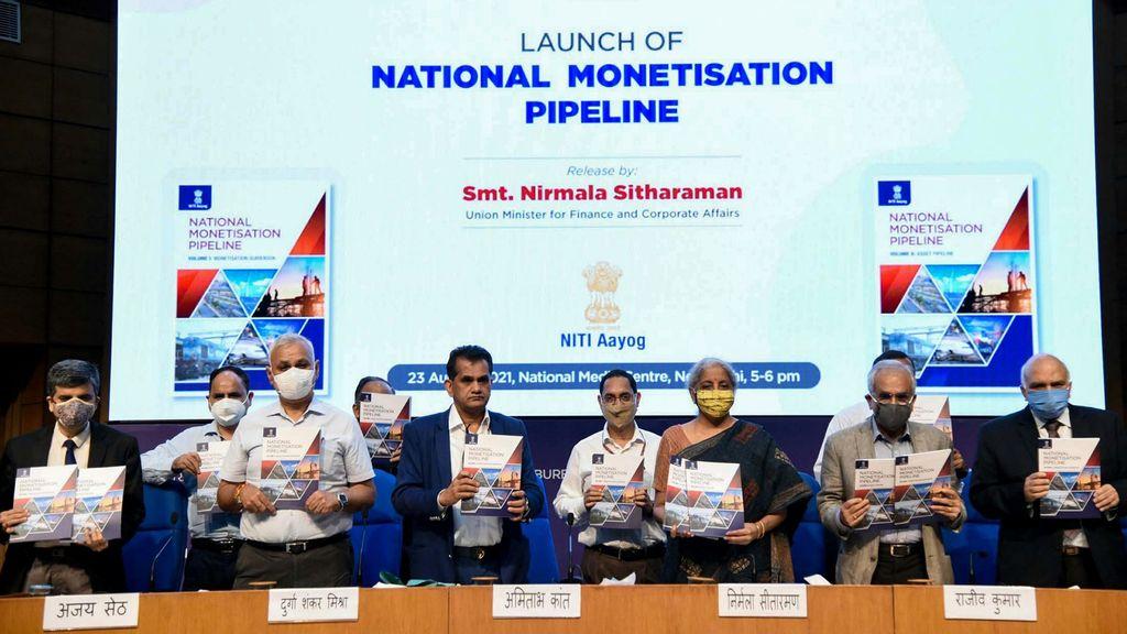 India Announces 'National Monetisation Pipeline' Scheme, $80 Billion Assets For Sale