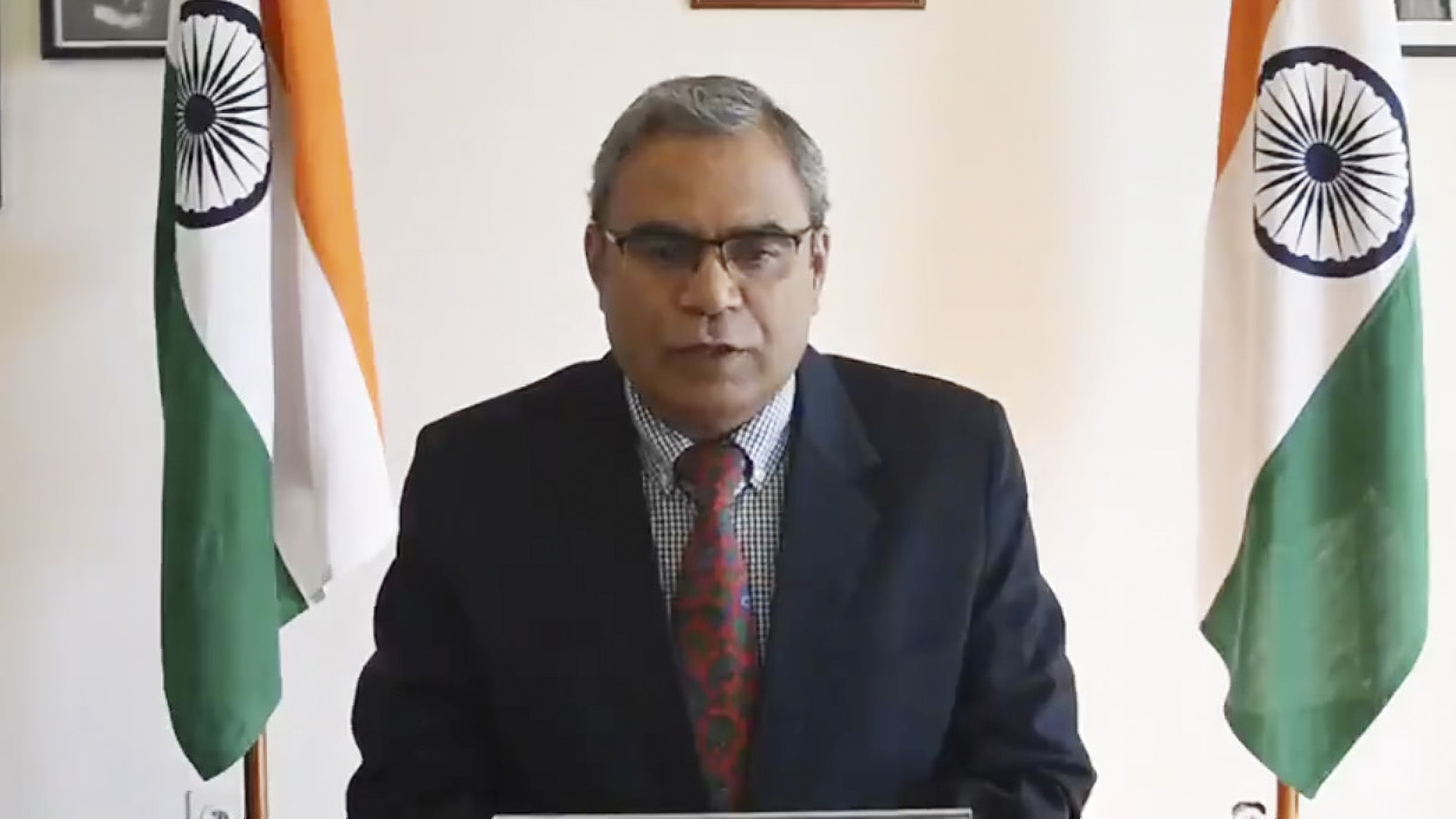 Indian Government Hopes Afghanistan's Territory Is Not Used By Terrorist Organizations