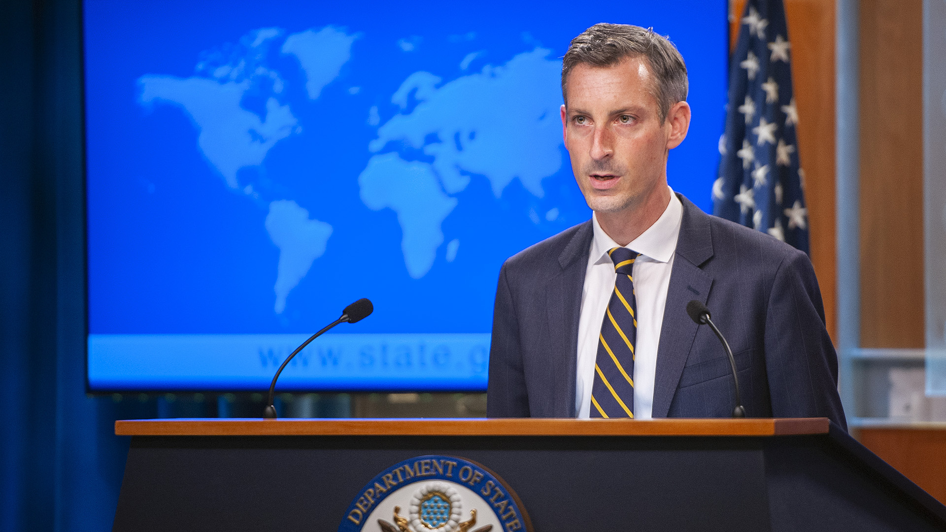 US State Department Are In Discussions With Taliban On Future Control Of Kabul Airport