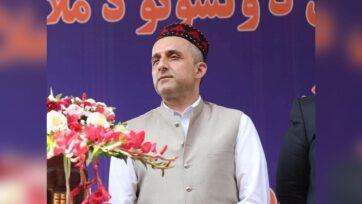 Amrullah Saleh, the acting President of Afghanistan. (@amrollah.saleh/Instagram)