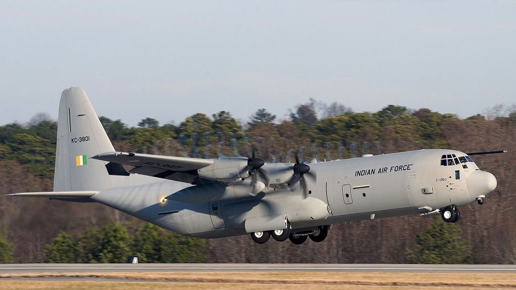 Lockheed Martin Bags $328 Million Indian Contract To Support C-130J Aircraft Fleet