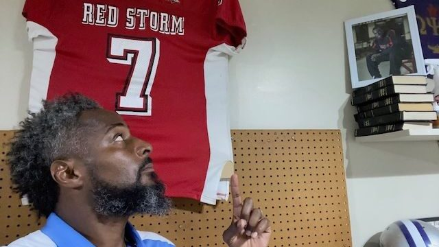Dante Jones: Father And Football Coach On Forefront Of Community Safety