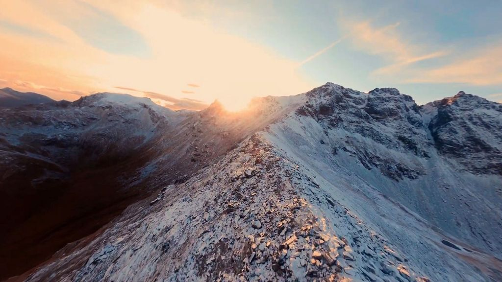 VIDEO: Drone Alone: Filmmaker's Astonishing Footage From Solo Drone Over Mountains