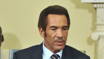 Obama Meets President Khama Of Botswana