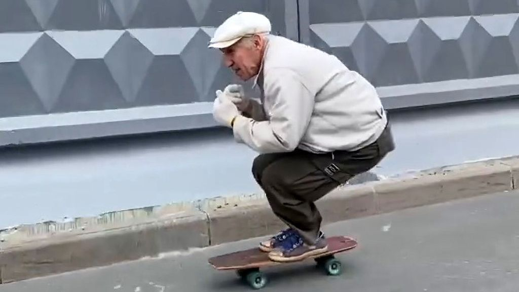 VIDEO: He's More Hip Op Than Hip Hop, But 73-year-old Skateboarder Wows Social Media