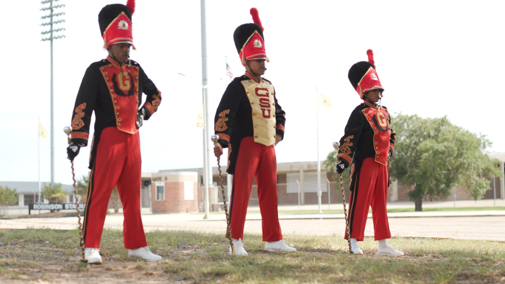 'World Famed' Grambling State Marching Tigers Set Another Historic Record With Female Drum Major