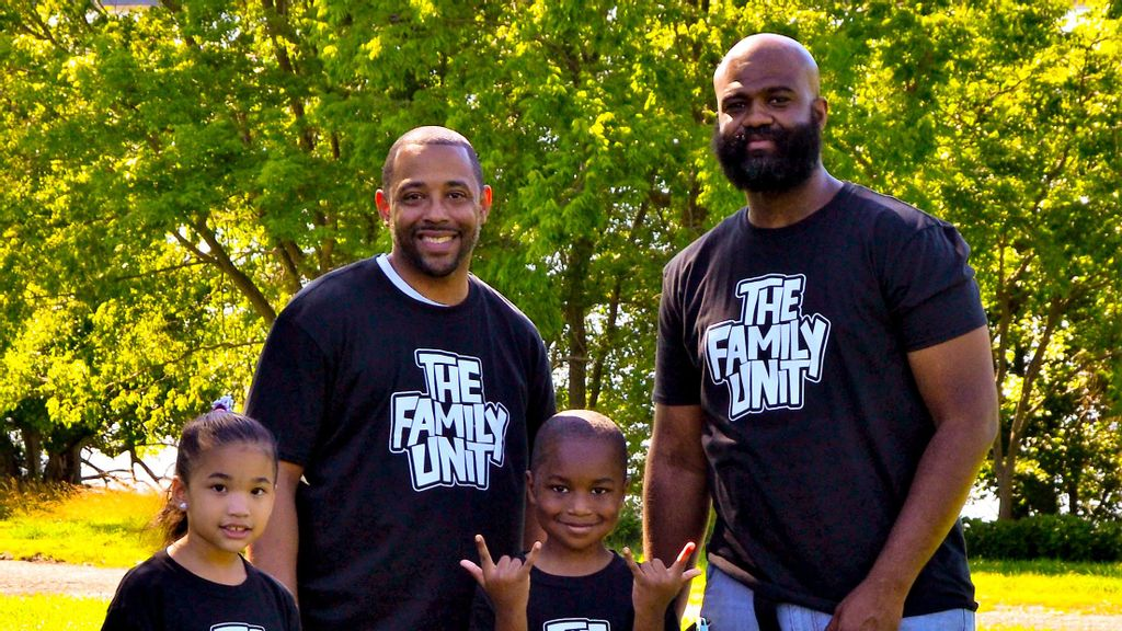 Two Black Fathers Look To 'Break Curse' Of Familial Abuse Through Clothing Line