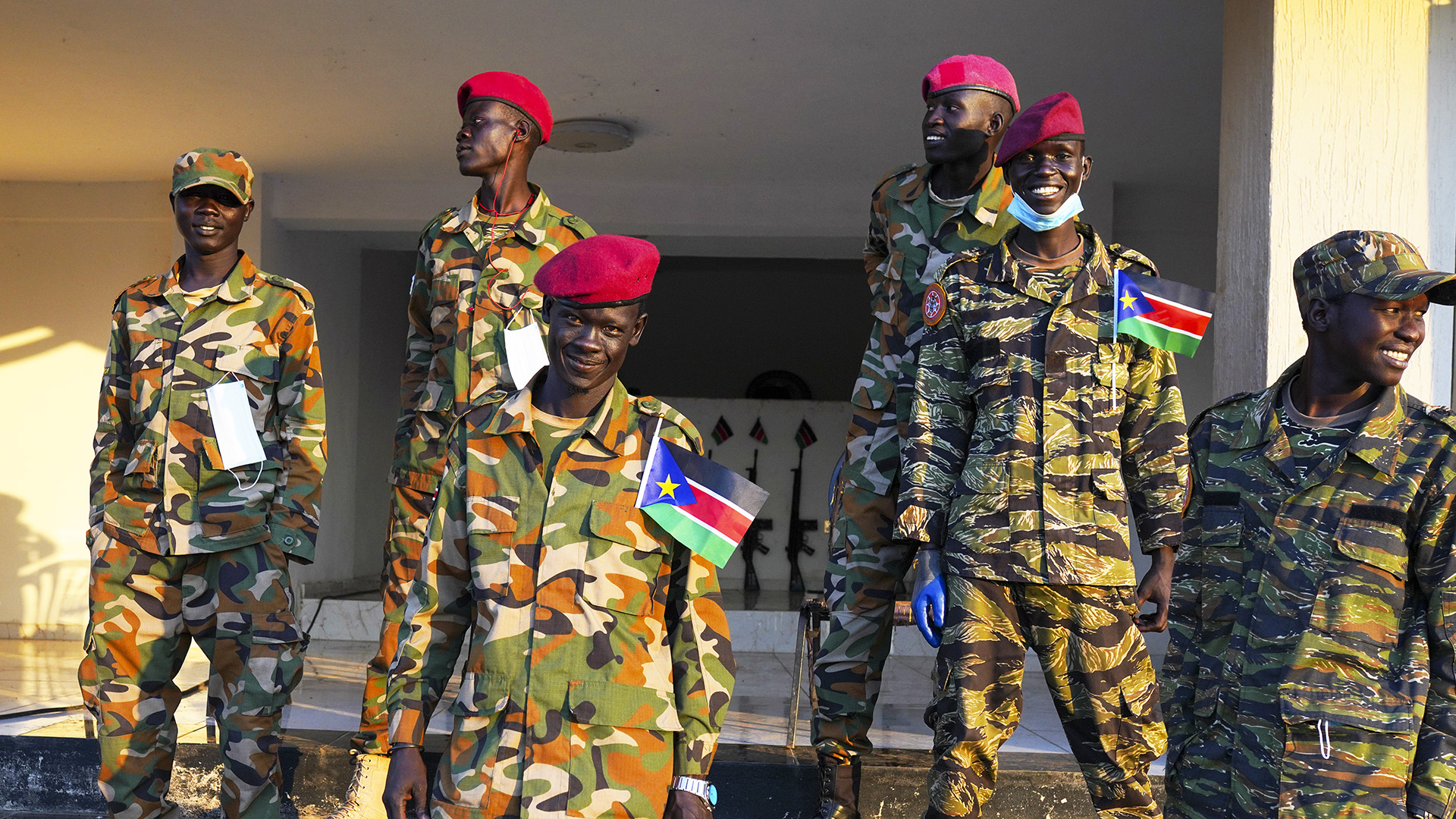 South Sudan First Vice President Rejects Deal On Command Of Military Recruits