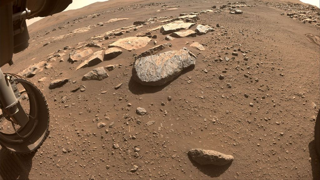 Perseverance Rover Cores Its First Mars Rock On Second Try