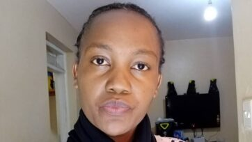 Faith Murunga went to Saudi Arabia as a domestic worker, but her employer — a caterer — forced her to do catering that was not in her contract.(Courtesy of Faith Murunga)