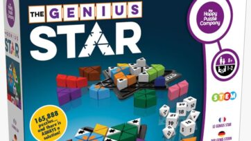 The Genius Star from The Happy Puzzle Company is an award-winner. (Courtesy of Aron Lazarus)