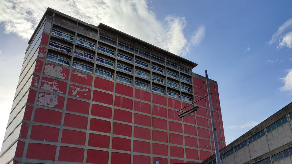 The University City Of Caracas, A World Heritage Site, Is Falling Apart