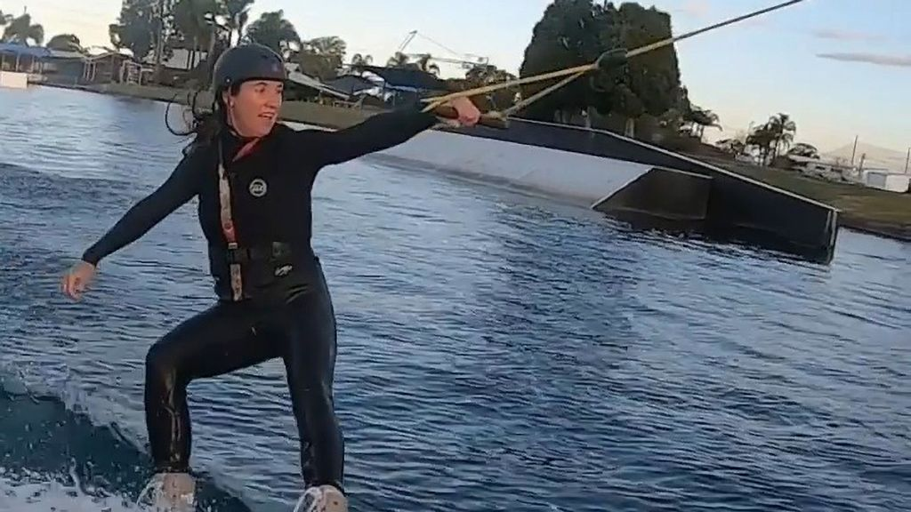 VIDEO: Threesy Does It: World Champion Wakeboarder Started When She Was Just A Toddler