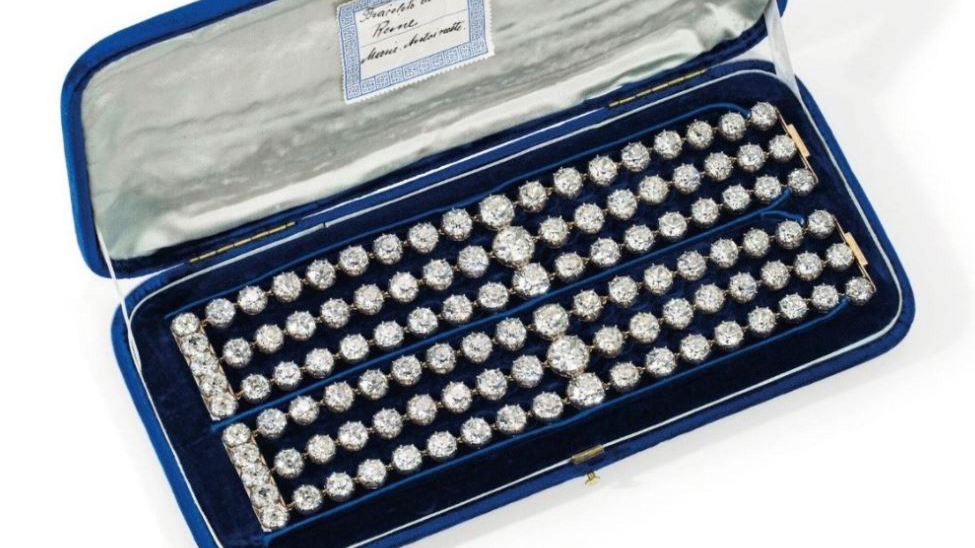 Off With Her Gems: Doomed Marie Antoinette's $4 Million Diamonds To Go Under The Hammer