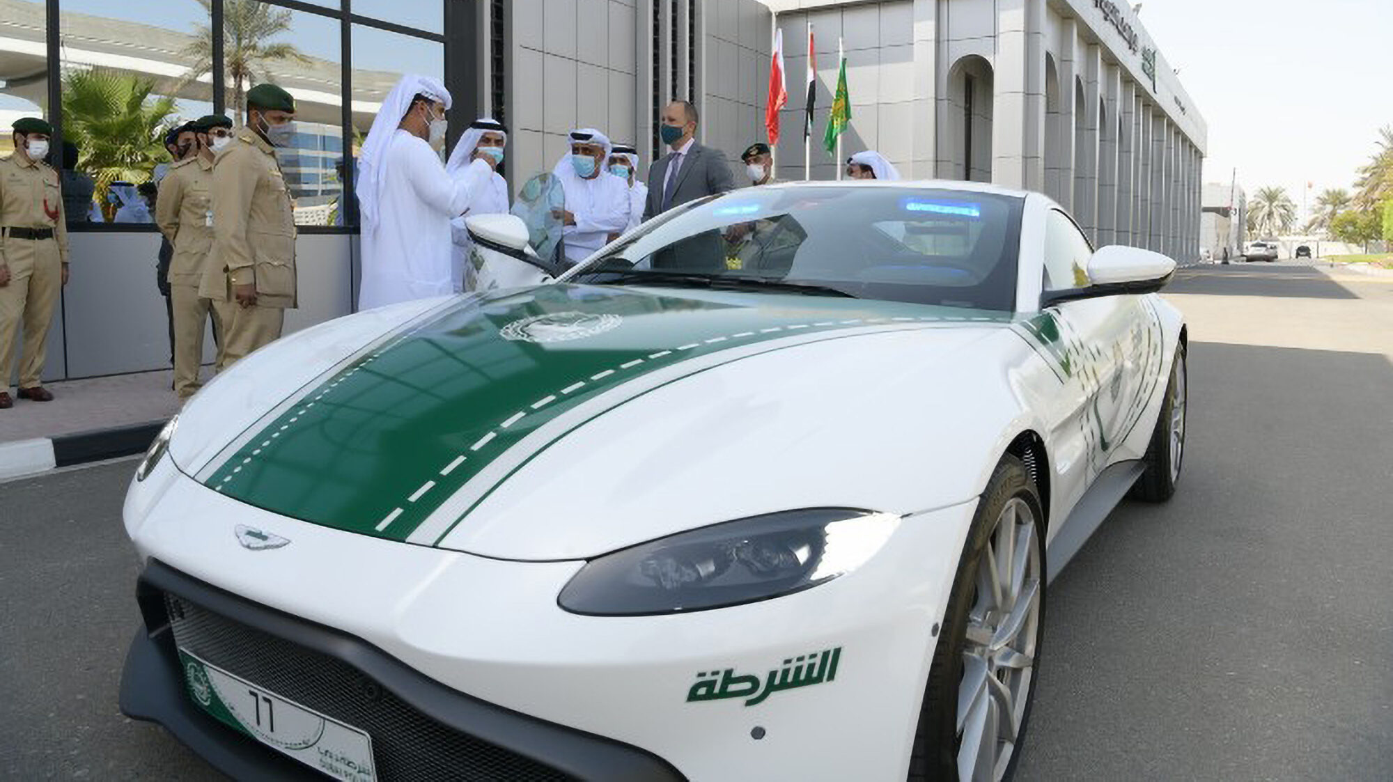Aston Out-Smartin: Police Add 195-mph Bond Supercar To Fleet To Outrun Crooks