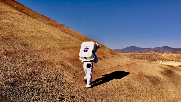 NASA Goes Back To The Future Testing Spacesuits For Moon And Mars Missions