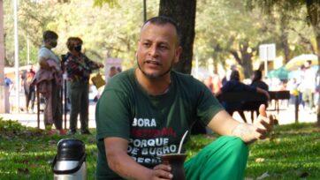 Alexandro Cardoso is studying at the Federal University of Rio Grande do Sul, thanks to a scholarship. (Víctor Cardoso)