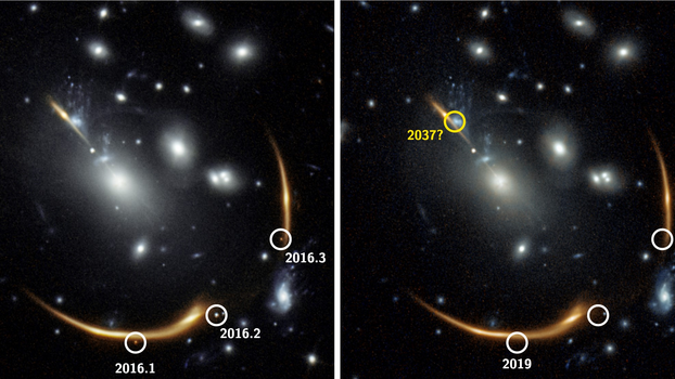 Curved Space Lets Astronomers See 1 Supernova Explosion 3 Times — and They Predict a 4th in 2037