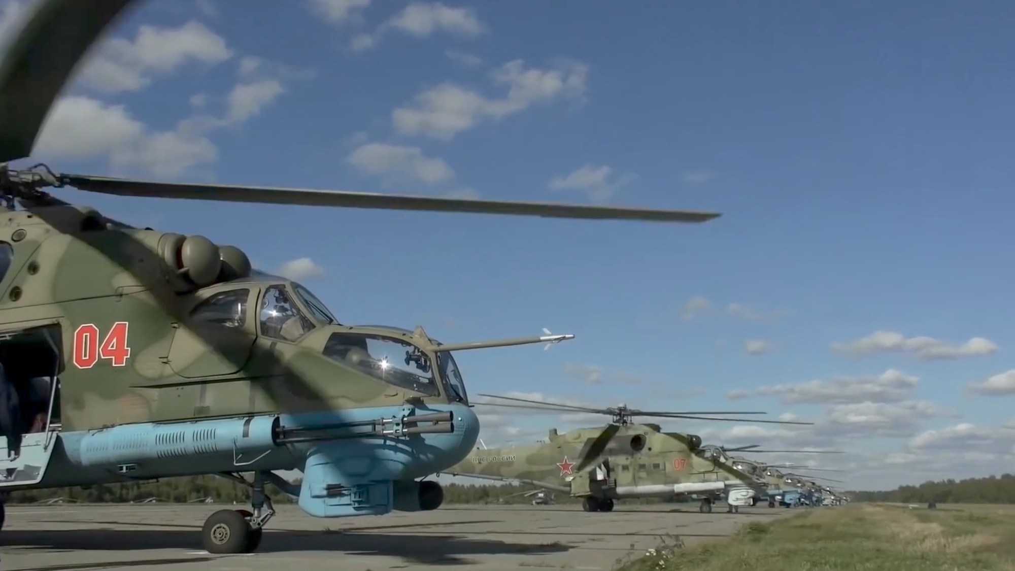 VIDEO: Russian Military Drill With Belarus Sends Warning To West
