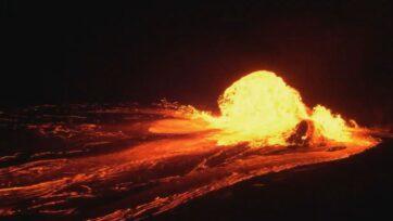 "NASA says volcanic ""super-eruptions"" occurred on the surface of Mars 4 billion years ago. (Madison Dean, NASA Goddard/Zenger)"