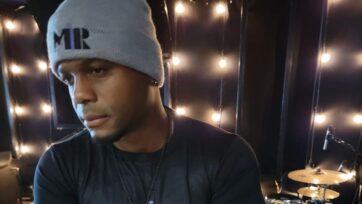 """Richard """"RichRel"""" Reliford in the recording studio. He will release his """"SonShine"""" album on Sept. 24. (Team M1R)"""
