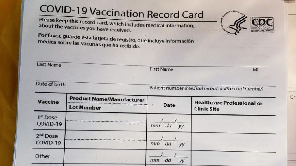 <p>U.S. Customs and Border Protection officers in Pittsburgh recently seized 70 counterfeit COVID-19 vaccination cards shipped from China, destined to an address in nearby Beaver County. (U.S. Customs and Border Protection/Zenger)</p>