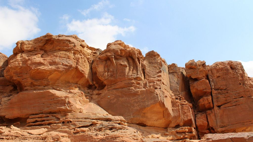 Giant Desert Camel Carvings Date Back 8,000 Years, Says Study