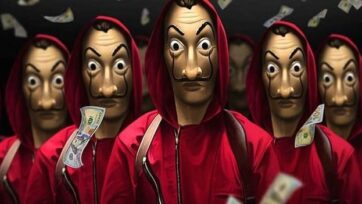 """Throughout its four seasons, """"Money Heist"""" had received critical acclaim for its sophisticated plot, interpersonal dramas and direction. Netflix renewed the show for a fifth and final season in July 2020. (Amazon)"""