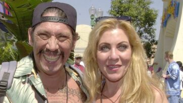 Danny Trejo stars in 'The Margarita Man.' Here, he is with his wife, Debbie Shreve. (Getty Images/Newsmakers)