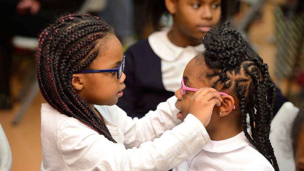 Free Eyeglasses Program Helps Baltimore Children Do Better In School, Study Finds