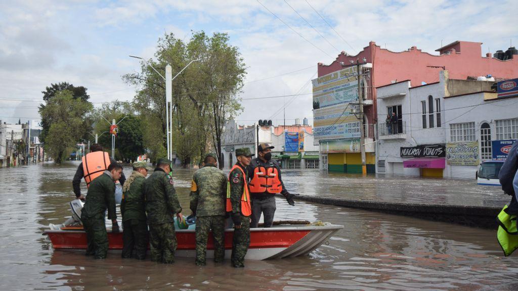 Aguas negras: inundaciones arrasan en Tula, México, con un nuevo desbordamiento de río