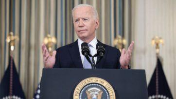 strongEl presidente de Estados Unidos, Joseph R. Biden Jr., quien se ve aquí en una conferencia con los reporteros en la Casa Blanca el 24 de septiembre, se enfrenta a importantes votaciones a finales de esta semana sobre los planes de gasto presupuestario y de infraestructura de su administración. (Anna Moneymaker/Getty Images)/strong