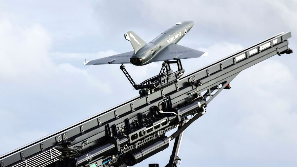 VIDEO: Royal Navy Launches Ultra High-Tech Drone From Aircraft Carrier