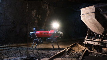 The robot developed at ETH Zurich was considered key to the victory of a team of scientists called CERBERUS in the U.S. Defense Advance Research Projects Agency (DARPA) Subterranean Challenge. (Team CERBERUS)