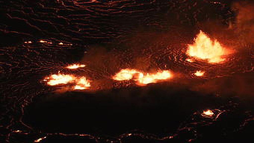 VIDEO: Hawaiian Volcano Spews Five-Story-High Lava Fountains
