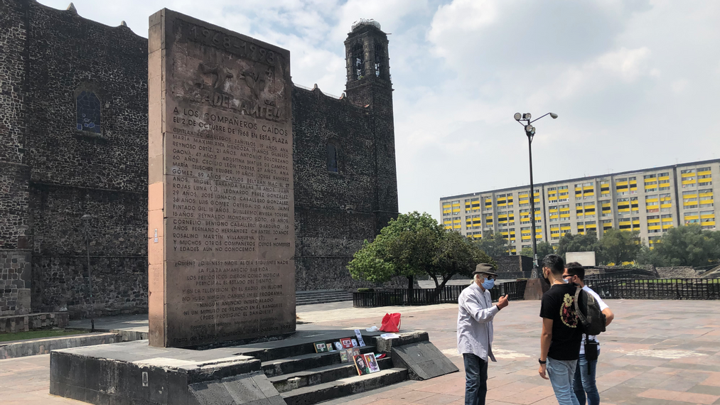 Mexico Remembers 1968 Student Massacre On Oct. 2