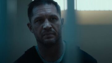 strongTom Hardy reprises his role of Eddie Brock, aka Venom, in Venom: Let There Be Carnage. (Courtesy of Sony Pictures)/strong