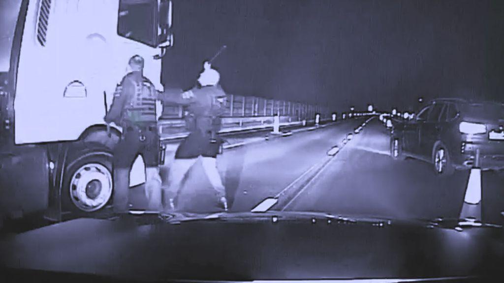 VIDEO: Drunken Truck Driver Takes Police On Terrifying Highway Chase